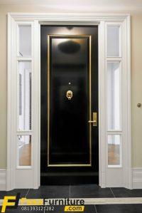 Desain Pintu Rumah Mewah Klasik