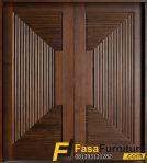 Desain Pintu Utama Klasik Modern