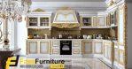 Kitchen Set Klasik Ukir Eropa Gold