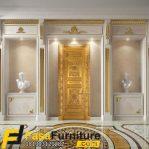 Kusen Pintu Rumah Mewah Model Ukiran Klasik Eropa