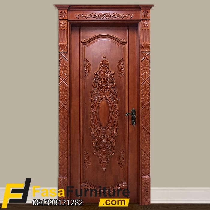 Kusen Pintu Ukir Royal Klasik Modern