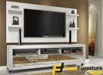 Meja TV Simple Minimalis Putih