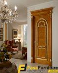 Pintu Kamar klasik Mewah Kayu Jati
