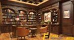 Set Meja Kantor Mewah Klasik