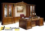 Set Meja Kantor Mewah Klasik Eropa