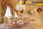 Set Meja Makan 8 Kursi Elegan