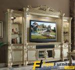 Bufet TV Mewah Model Ukiran Klasik FF – 130