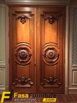 Desain Pintu Utama Model Kupu Tarung mewah
