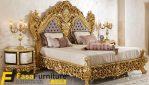 Desain Tempat Tidur Royal Ukiran Jepara