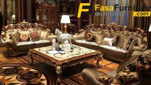 Kursi Tamu Sofa Royal Ukiran Eropa