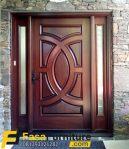 Pintu Depan Kayu Jati Model Klasik