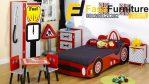 Set Tempat Tidur Anak Model Mobil Modern