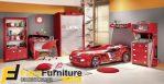 Set Tempat Tidur Anak Model Mobil Sport
