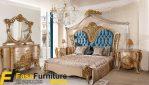 Tempat Tidur Mewah Model Ukiran Klasik