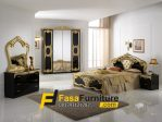 Set Tempat Tidur Black Klasik FF-289