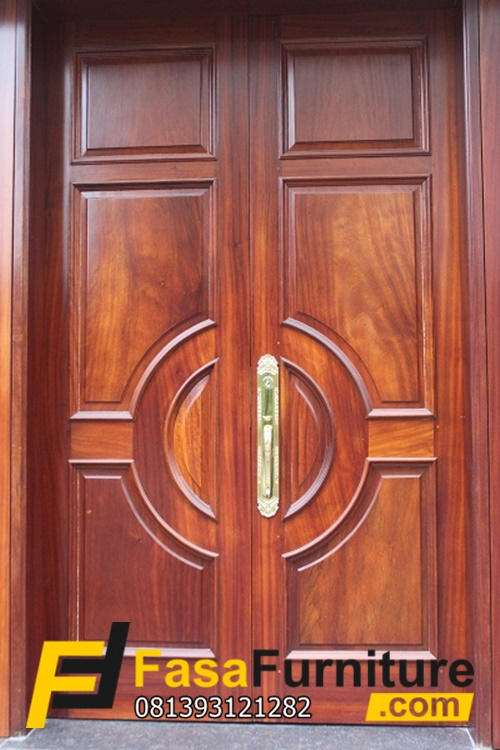 Harga Pintu Utama Klasik Kayu Jati
