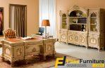 Set Meja Kantor Klasik Model Eropa