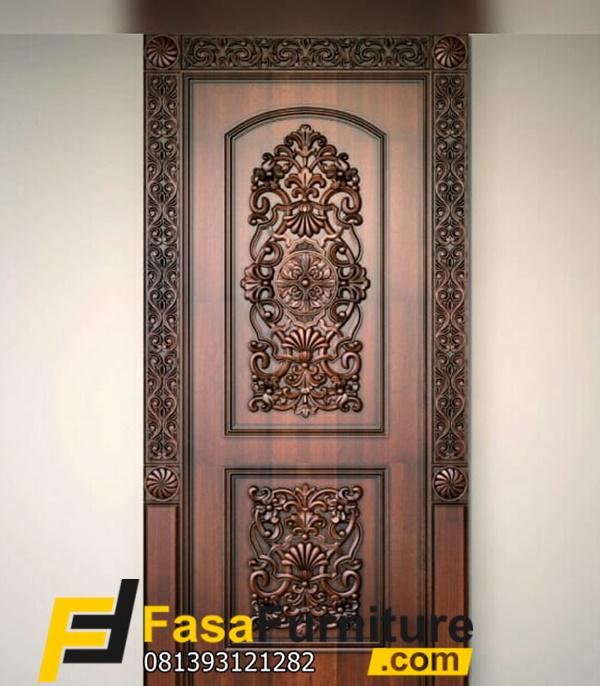Desain Pintu Kamar Ukiran Klasik Eropa