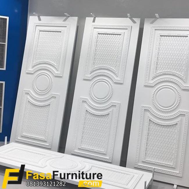 Pintu Kamar Utama Warna Putih FF-353