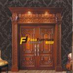 Pintu Rumah Elite Kayu Jati Ukir