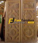 Pintu Utama Model Ukiran Klasik FF-336