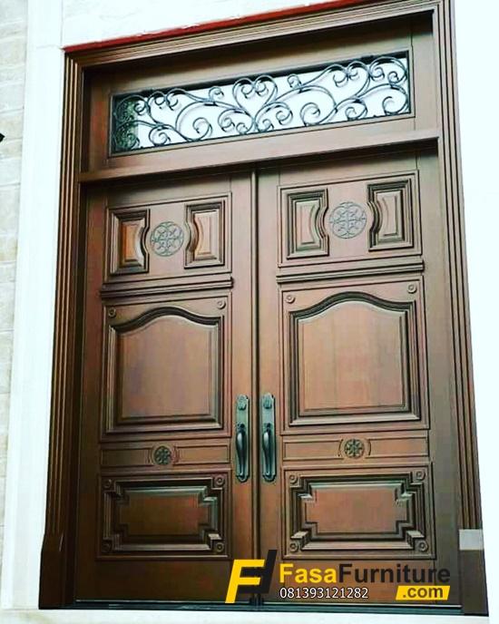 Harga Pintu Rumah Minimalis Klasik Eropa FF-368