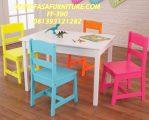 Meja Kursi Sekolah Paud Dan TK Minimalis FF-390