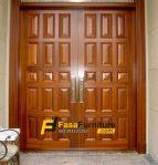 Pintu Rumah Minimalis Kayu Jati Super