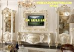 Set Bufet TV Mewah Ukir Lemari Hias Klasik FF-391