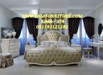 Set Kamar Tidur Romantis Model Klasik Eropa Elegan