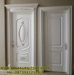 Kusen Pintu Kamar Ukir Dan Minimalis Terbaru