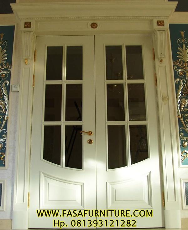 Kusen Pintu Utama Minimalis Ram Kaca Duco