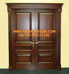 Pintu Rumah Klasik Minimalis Jati