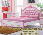 Tempat Tidur Anak Minimalis Warna Pink