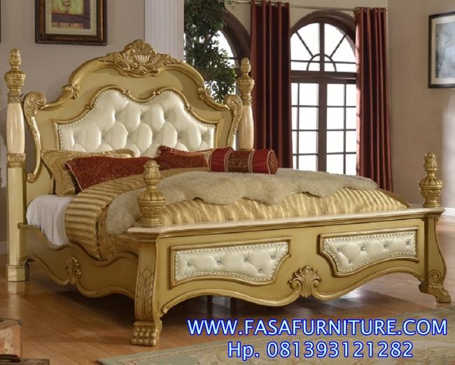 Harga Tempat Tidur Klasik Jepara FF-439