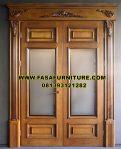 Model Pintu Kupu Tarung Jati Jepara