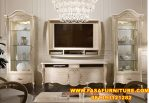Desain Set Meja TV Klasik FF-461