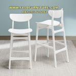 Kursi Cafe Tinggi Warna Putih Terbaru