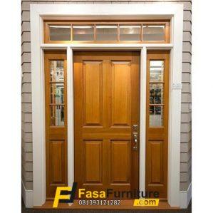 Kusen Pintu Utama Single Boven Minimalis