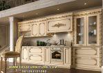 Model Kitchen Set Masufana Ukir Lurus Elegan