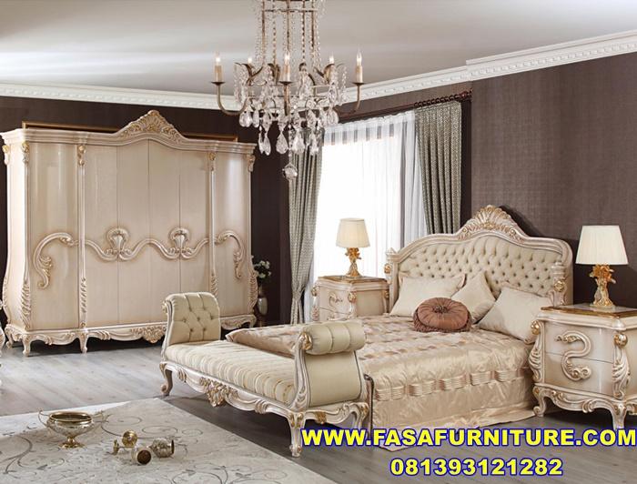 Set Kamar Tidur Royal Klasik Eropa