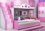 Desain Tempat Tidur Tingkat 2 Kasur Mewah