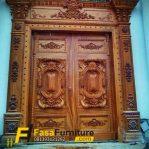 Pintu Kayu Jati Model Ukir Rumah Klasik