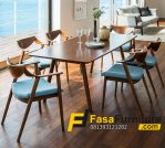 Set Kursi Cafe Minimalis Sandaran Lengkung