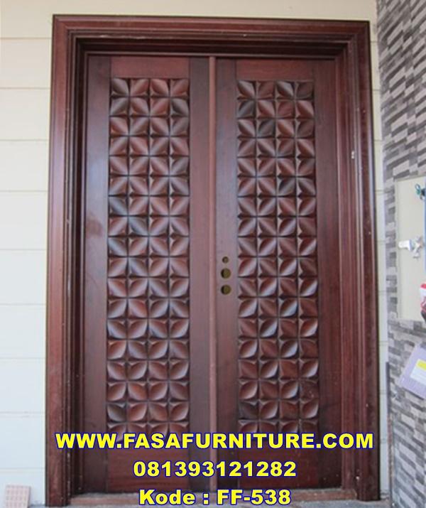 Pintu Rumah Jakarta Model Minimalis Jepara