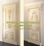 Set Pintu Kamar Ukir 2 Motif Klasik Eropa