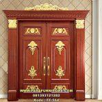 Set Pintu Rumah Ukiran Mewah Gold FF-564