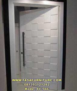 Jual Pintu Single Model Kotak Putih