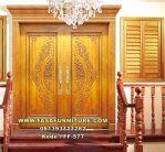 Set Pintu Rumah Ukir Kayu Jati
