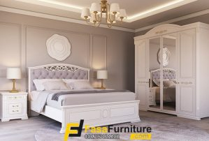 Set Tempat Tidur Minimalis Eropa